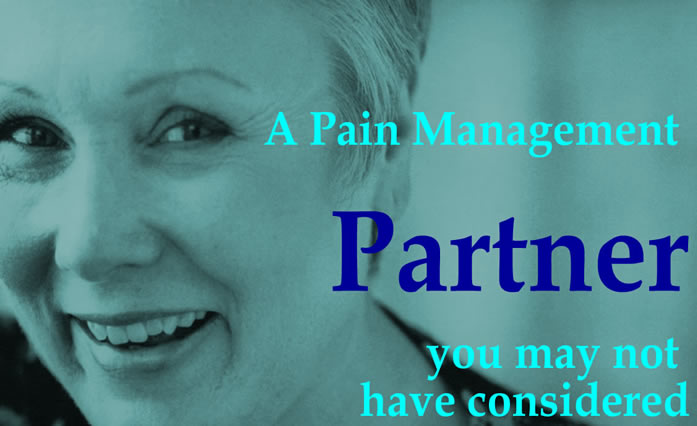 A Pain Management partner you may have not expected